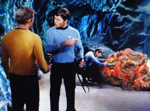Spock Mind Melding With the Silica Based Horta